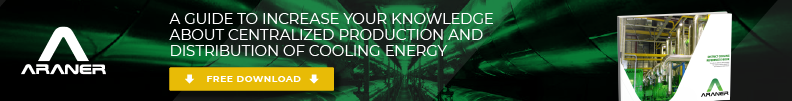 production and distribution of cooling energy