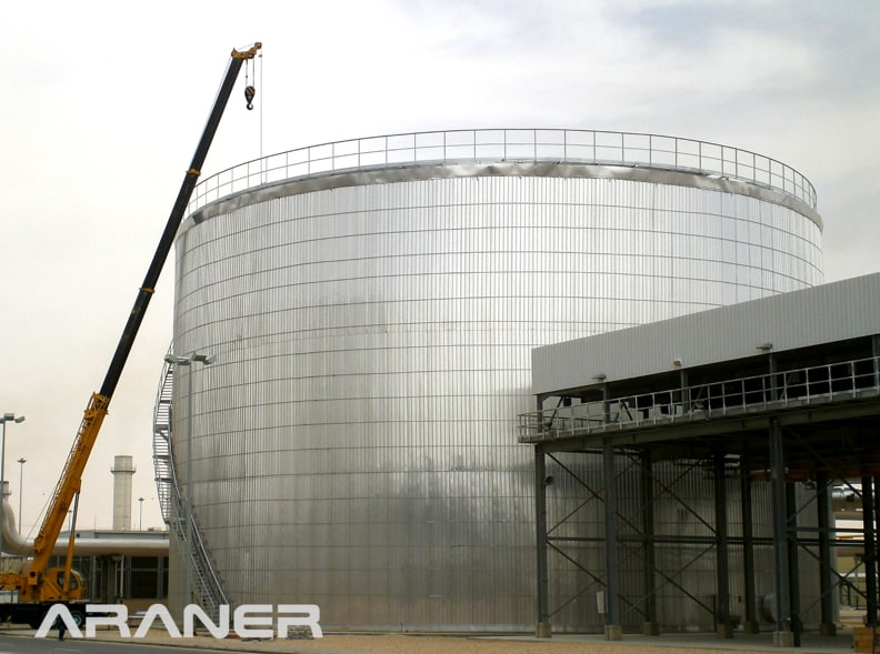 ARANER's Thermal Energy Storage tank