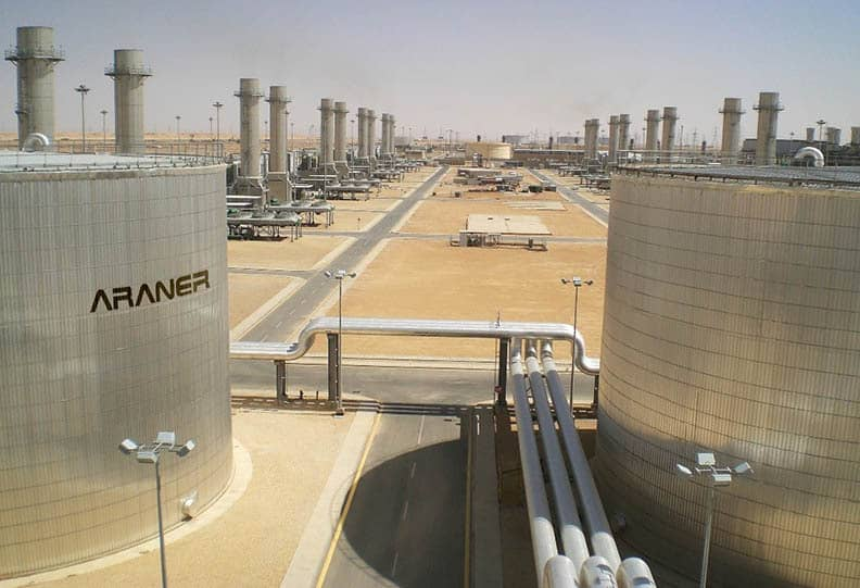 thermal storage with araner