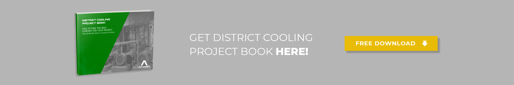 ARANER is the best consultant for a District Cooling project
